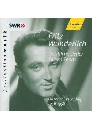 Fritz Wunderlich - Sacred Songs - Historical Recording 1956 - 1958