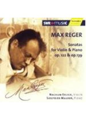 Reger: Sonatas for Violin and Piano, Op 122 & 139