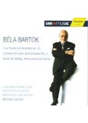 Bela Bartok - Four Pieces For Orchestra Op.12/Concerto For Violin And Orch