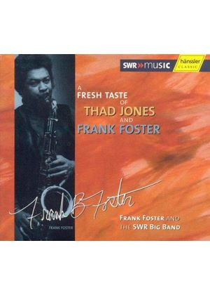 Thad Jones & Frank Foster - Fresh Taste Of Thad Jones And Frank Foster, A