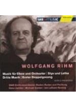 Rihm: Orchestral Works