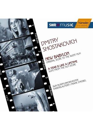 Dimitry Shostakovich & Frank Strobe - New Babylon/A Year Is Like A Lifetime