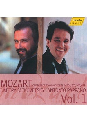 Mozart: Sonatas for Violin and Piano, Vol 1