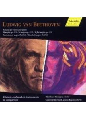 Ludwig Van Beethoven - Sonatas For Violin And Piano
