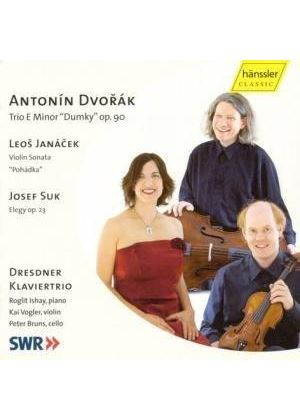 Dvorák; Janácek; Suk: Works for Violin, Cello and Piano