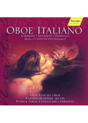 VARIOUS COMPOSERS - Oboe Italiano (Lencses)