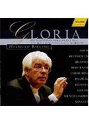 VARIOUS COMPOSERS - Gloria - The Most Beautiful Vocal Works (Rilling)