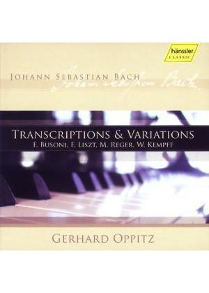 Bach: Transcriptions & Variations
