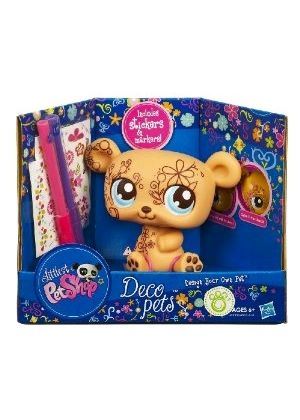 Littlest Pet Shop Deco Pets - Personalize Your Pet Bear