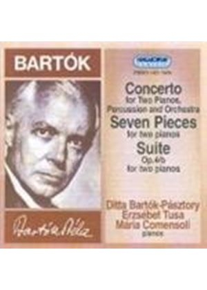 Bartók: Works for Two Pianos