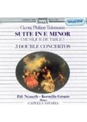 Telemann: Suite and Double Concertos for Two Flutes
