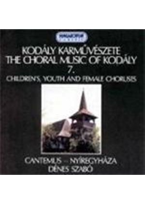 Kodály: Choral Works, Volume 7