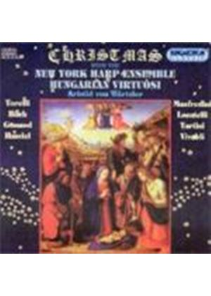 Varoius Composers - Christmas With The New York Harp Ensemble (Wurtzler, Nyhe)