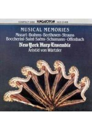 VARIOUS COMPOSERS - Musical Memories (New York Harp Ensemble)