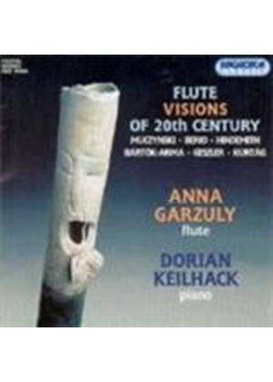 VARIOUS COMPOSERS - Flute Visions Of The 20th Century (Garzuly, Keilhack)