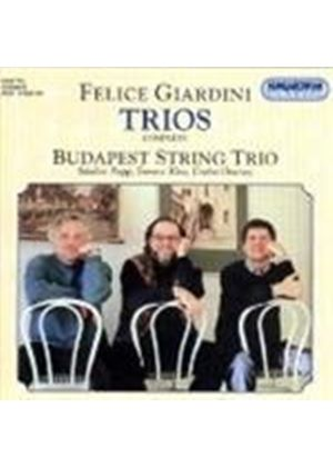 Felice Giardini - Trios For Strings (Budapest String Trio)