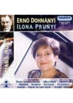 ERNO DOHNANYI - Piano Music Vol. 1 (Prunyi)