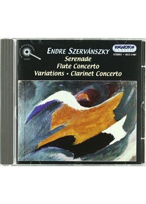 Endre Szervanszky - Serenade For Strings, Flute Concerto, Variations For Orch.