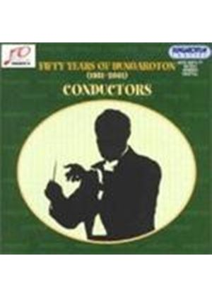 VARIOUS COMPOSERS - Fifty Years Of Hungaroton 1951 - 2001: Conductors