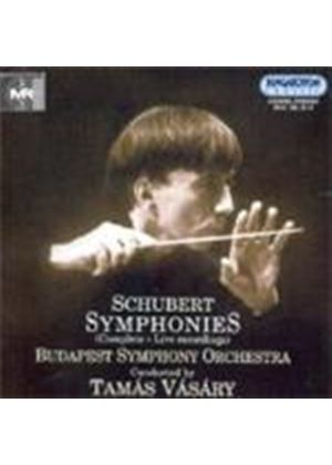Franz Schubert - Complete Symphonies: Live Recordings (Vasary, Budapest SO)