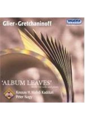 Glier/Gretchaninoff - Album Leaves: Works For Cello And Piano (Nagy, Kadduri)