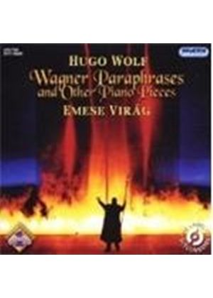 Hugo Wolf - Wagner Paraphrases And Other Piano Pieces (Virag)