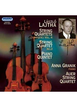 László Lajtha: String Quartets, Vol. 4 (Music CD)