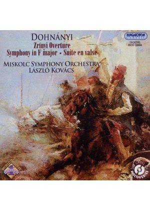 Dohnányi: Zrínyi Overture; Symphony in F major; Suite en valse (Music CD)
