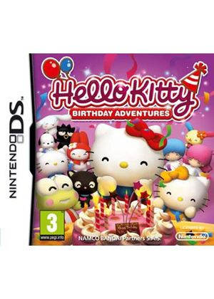 Hello Kitty - Birthday Adventures (Nintendo DS)