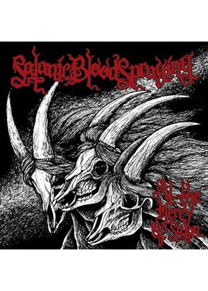 Satanic Bloodspraying - At the Mercy of Satan (Music CD)