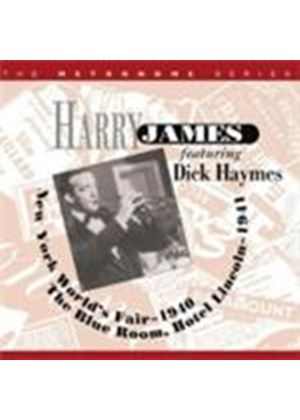 Harry James - New York World's Fair 1940/Hotel Lincoln 1941 (Music CD)