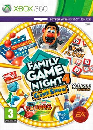 Hasbro Family Game Night 4: The Game Show Edition (Xbox 360)