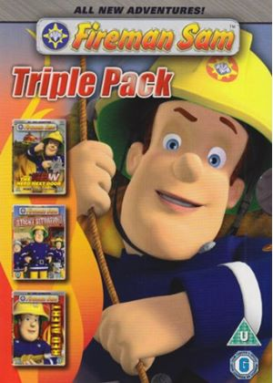 Fireman Sam - The New Hero Next Door / Red Alert / Sticky Situation