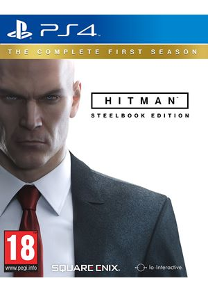 Hitman: The Complete First Season Steelbook Edition (PS4)