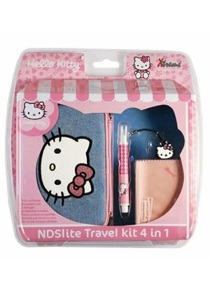 Hello Kitty Travel Kit 4-in-1 (Nintendo 3DS/DS)