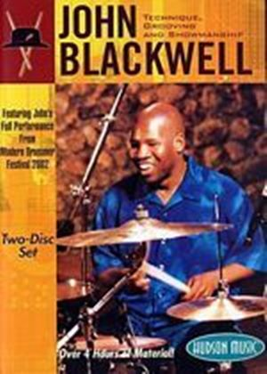 Grooving And Showmanship John Blackwell - Technique