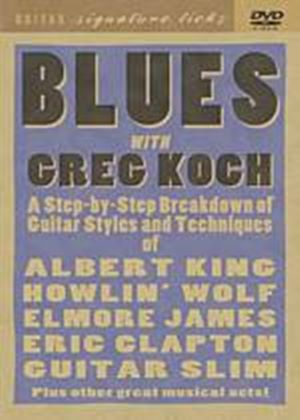 Greg Koch Blues Guitar, Signature Licks