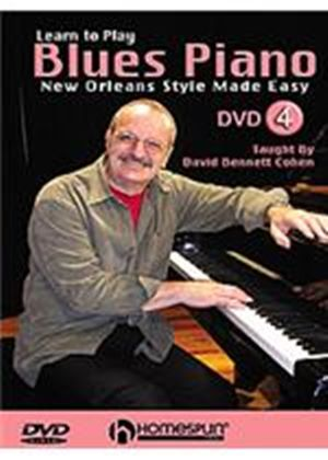 Learn To Play Blues Piano - New Orleans Style Made Easy Vol.4