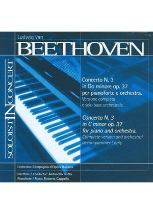 Beethoven: Piano Concerto No. 3 (Complete version and orchestral accompaniment only) (Music CD)