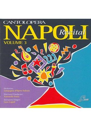 Napoli Recital, Vol. 3 (Music CD)