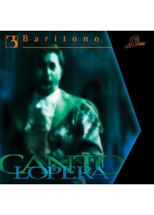 Cantolopera: Baritono, Vol. 3 (Music CD)