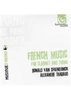 French Clarinet Works (Music CD)