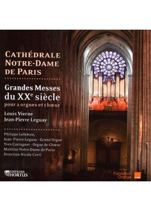 Vierne/Leguay - High Mass In C Minor/Missa Deo Gratius (Lefebvre, Leguay) (Music CD)