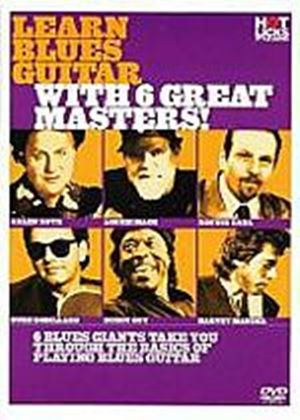 Hot Licks - Learn Blues Guitar With 6 Great Masters!