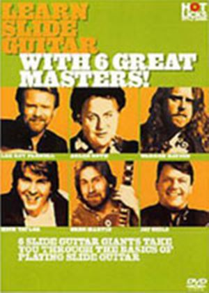 Hot Licks - Learn Country Guitar With 6 Great Masters!