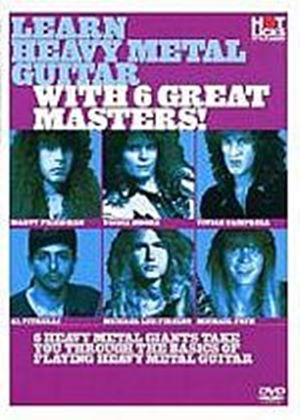 Hot Licks - Learn Heavy Metal Guitar With 6 Great Masters!