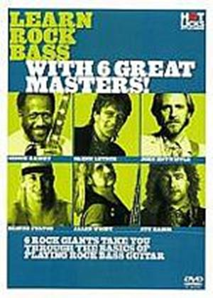 Hot Licks - Learn Rock Bass With 6 Great Masters!