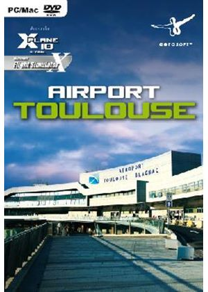 Airport Toulouse for X-Plane 10 (PC DVD)