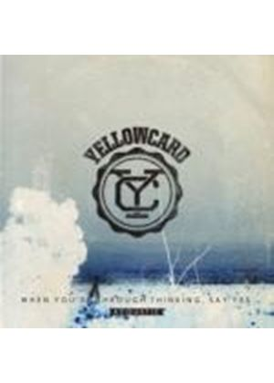 Yellowcard - When You're Through Thinking, Say Yes Acoustic (Music CD)