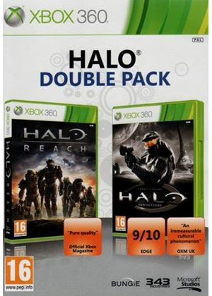 Halo Reach and Halo Anniversary CE Double Pack (Xbox 360)